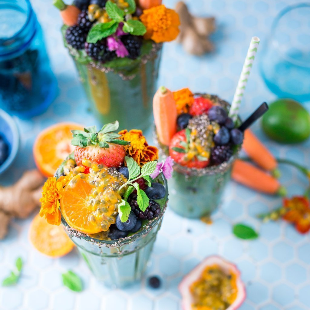 Vegan SMOOTHIE Recipes W/ List Of Micronutrients