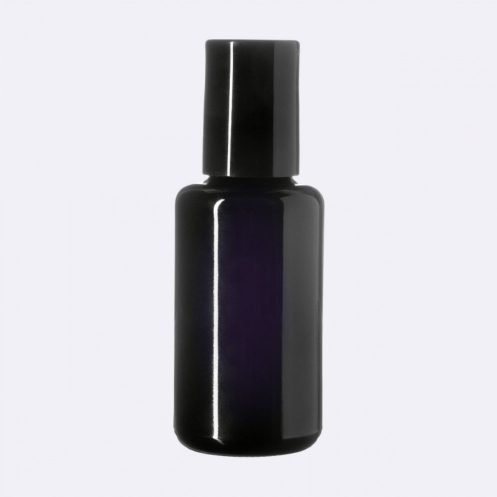 Dark-Violet-UV-Glass-Bottle-Roller-Cap-Vegan-Skin-Care-Garden-Las-Vegas