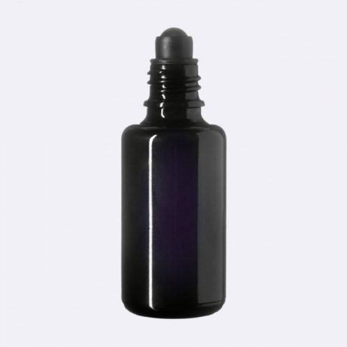 Dark-Violet-UV-Glass-Bottle-Roller-Vegan-Skin-Care-Garden-Las-Vegas
